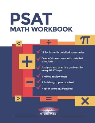 New PSAT Math Workbook Cover Image