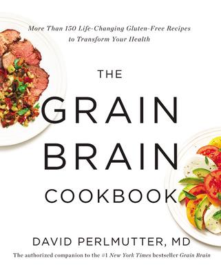 Cover for The Grain Brain Cookbook