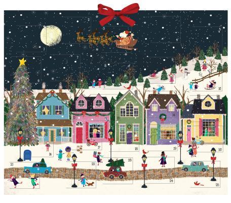Winter Wonderland Advent Calendar Cover Image