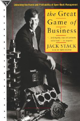 The Great Game of Business: Unlocking the Power and Profitability of Open-Book Management Cover Image