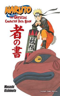 Naruto: The Official Character Data Book cover image