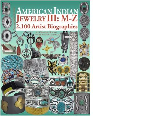 American Indian Jewelry III: M-Z Cover Image