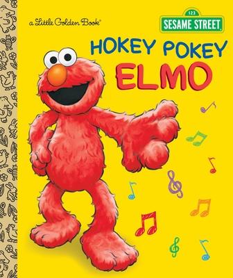 Hokey Pokey Elmo (Sesame Street) (Little Golden Book) Cover Image