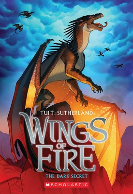 The Dark Secret (Wings of Fire #4) Cover Image