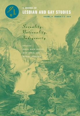 Sexuality, Nationality, Indigeneity (Glq: A Journal of Lesbian and Gay Studies) Cover Image