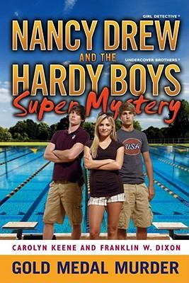 Cover for Gold Medal Murder (Nancy Drew/Hardy Boys #4)