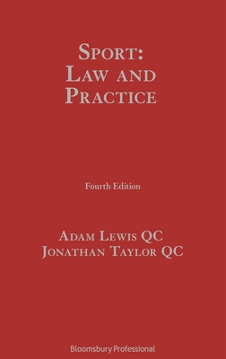 Sport: Law and Practice Cover Image