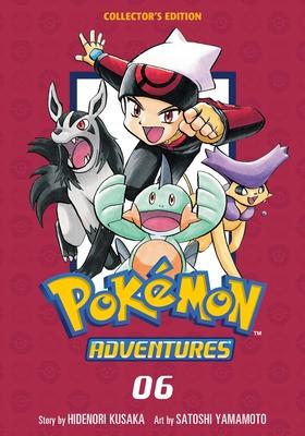 Pokémon Adventures Collector's Edition, Vol. 6 (Pokémon Adventures Collector's Edition #6) Cover Image