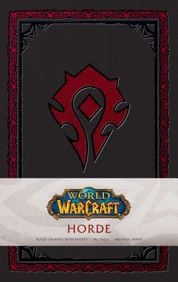 World of Warcraft: Horde Hardcover Ruled Journal (Gaming) Cover Image