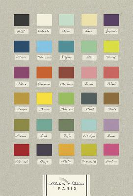 30 Nuances: 30 Shades of the French Colour Chart Cover Image