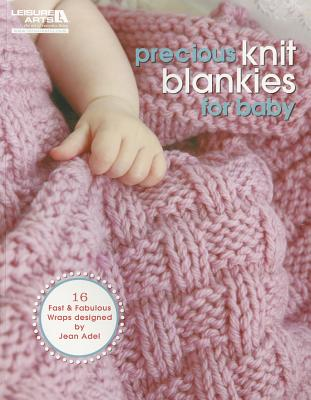 Precious Knit Blankies for Baby Cover Image