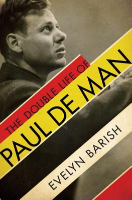The Double Life of Paul de Man Cover