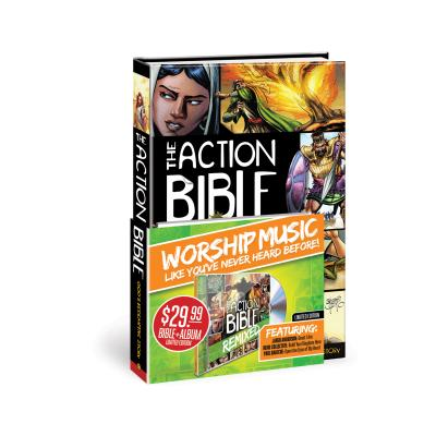 The Action Bible: God's Redemptive Story [With CD (Audio)] Cover Image
