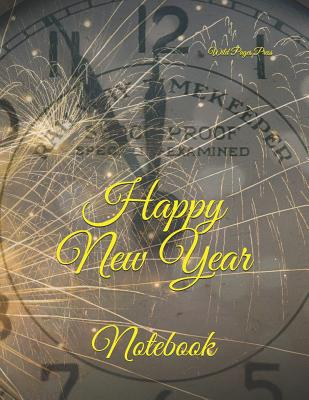 Happy New Year: Notebook Cover Image