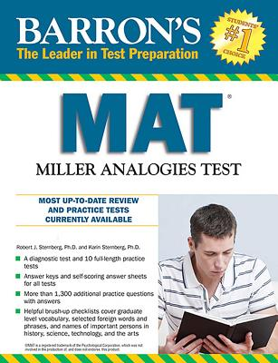 Barron's MAT: Miller Analogies Test Cover Image