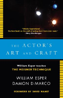 The Actor's Art and Craft Cover