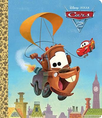 Cars 2 Big Golden Board Book (Disney/Pixar Cars 2) Cover Image