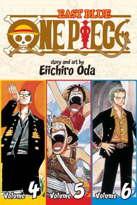 One Piece (Omnibus Edition), Vol. 2: Includes vols. 4, 5 & 6 Cover Image