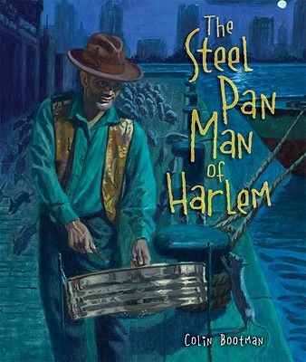 The Steel Pan Man of Harlem Cover