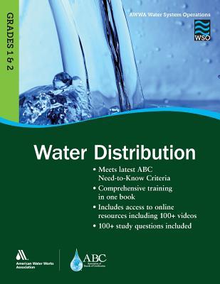 Wso Water Distribution, Grades 1 & 2 Cover Image