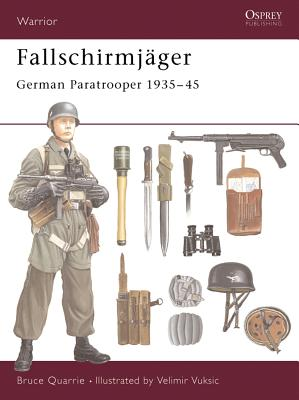Fallschirmjäger: German Paratrooper 1935-45 Cover Image