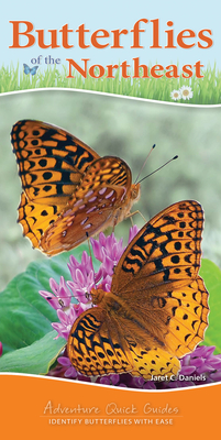 Butterflies of the Northeast: Identify Butterflies with Ease (Adventure Quick Guides) Cover Image