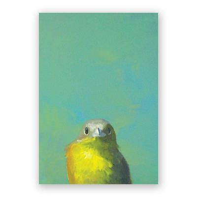 Yellow Bird Notebook Cover Image