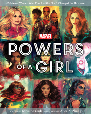 Marvel Powers of a Girl Cover Image