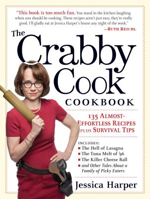 The Crabby Cook Cookbook Cover