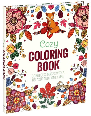 Cozy Coloring Book Cover Image
