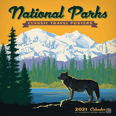 Cal 2021- National Parks Classic Posters Wall Cover Image