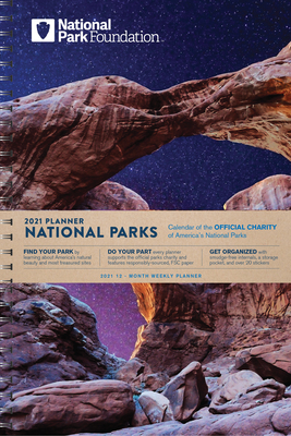 2021 National Park Foundation Planner Cover Image