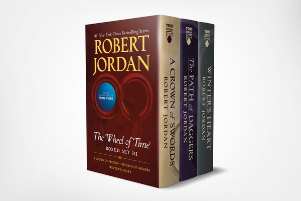 Wheel of Time Premium Boxed Set III: Books 7-9 (A Crown of Swords, The Path of Daggers, Winter's Heart) Cover Image