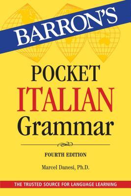 Pocket Italian Grammar (Barron's Grammar) Cover Image