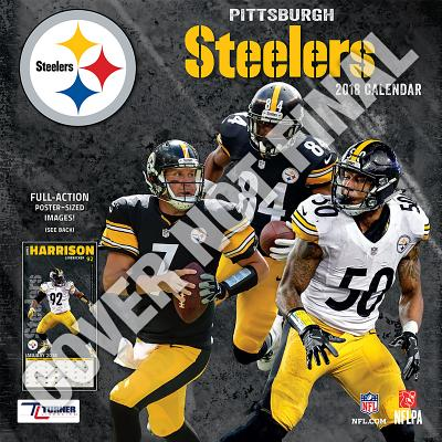 Pittsburgh Steelers 2019 12x12 Team Wall Calendar Wall