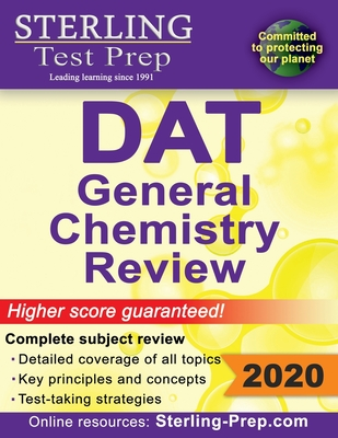 Sterling Test Prep DAT General Chemistry Review: Complete Subject Review Cover Image