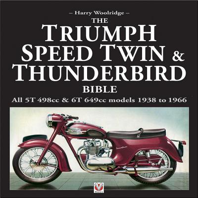 The Triumph Speed Twin & Thunderbird Bible Cover Image