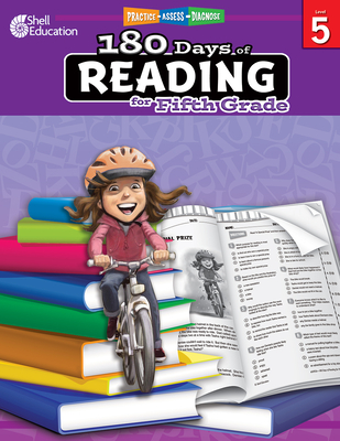 180 Days of Reading for Fifth Grade: Practice, Assess, Diagnose (180 Days of Practice) Cover Image