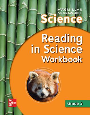 Macmillan/McGraw-Hill Science, Grade 3, Reading in Science Workbook (Older Elementary Science) Cover Image