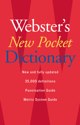 Webster's New Pocket Dictionary Cover Image