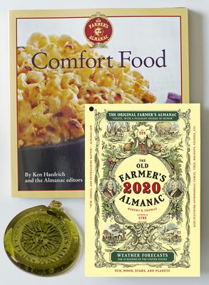 The Old Farmer's Almanac 2020/Comfort Food Cookbook/Sun Catcher Bundle Cover Image