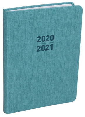2021 Small Teal Planner (Sorrento Press) Cover Image