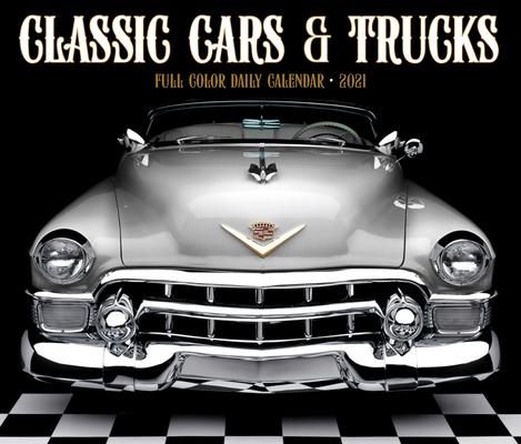 Classic Cars & Trucks 2021 Box Calendar Cover Image