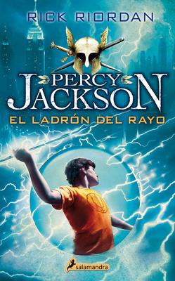 El Ladrón del Rayo/ The Lightning Thief Cover Image