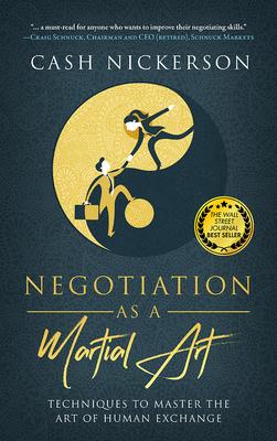 Cover for Negotiating as a Martial Art
