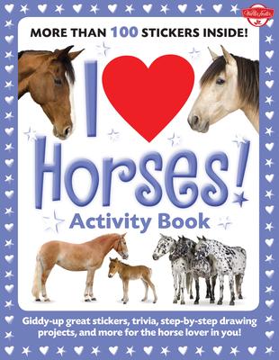 I Love Horses! Activity Book Cover