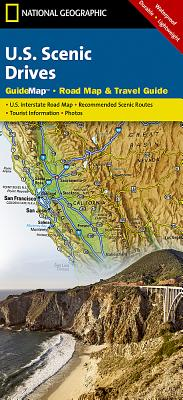 U.S. Scenic Drives (National Geographic GuideMaps) Cover Image