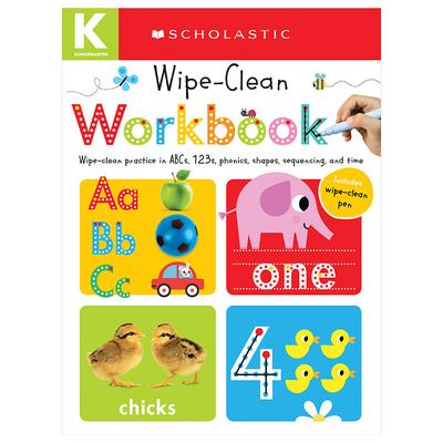 Kindergarten Wipe-Clean Workbook: Scholastic Early Learners (Wipe-Clean Workbook) Cover Image
