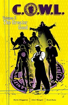 C.O.W.L., Volume 2 Cover