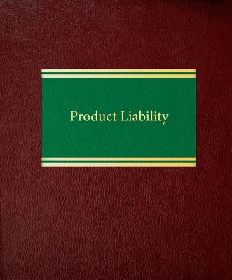 Product Liability Cover Image